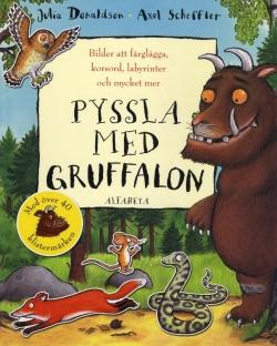 Pyssla med Gruffalon - Bilder att färglägga, korsord, labyrinter och mycket